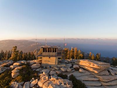 The Shut Eye Ranger Station - Shut Eye Peak, Fresno County