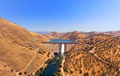 Pine Flat Dam, Pine Flat, CA