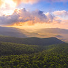 Sunrise Over Mount Pisgah National Forest