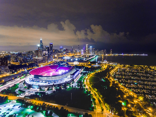 Coldplay at Soldier Field in Chicago, IL