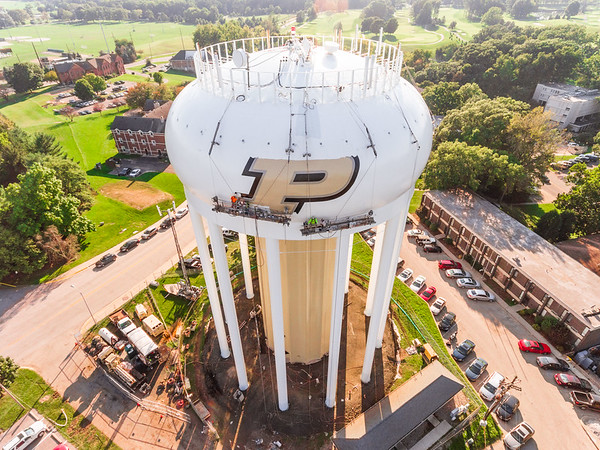 Purdue University Water Tower