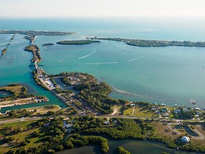 Aerial Punta Gorda Florida 4-18-18