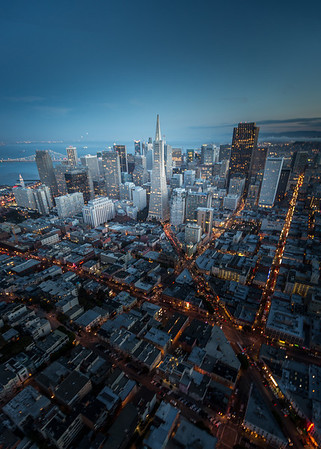 Above Downtown San Francisco