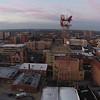 Terre Haute Downtown Toward Tower