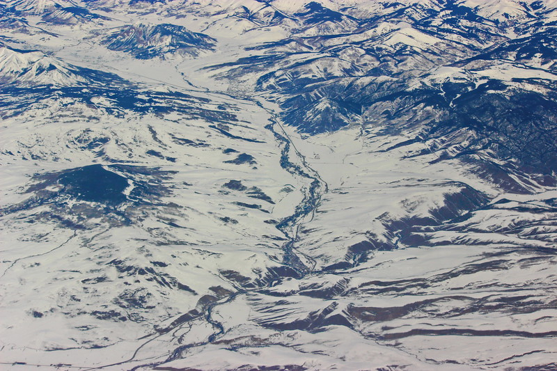 Snow Covered Western Lands