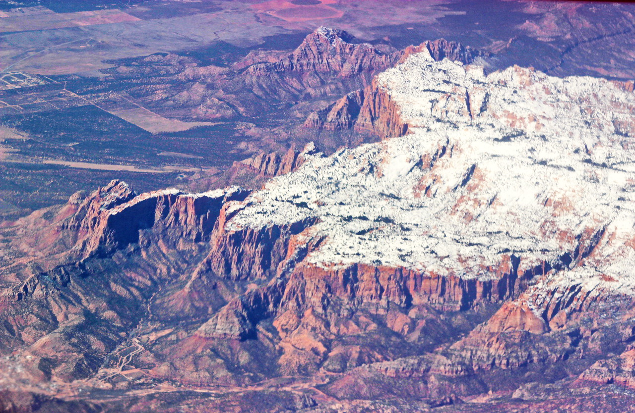 Snow Covered Mesa