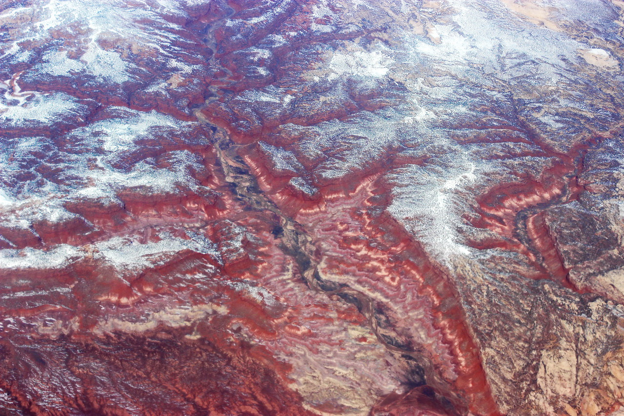 River Carves the Canyon