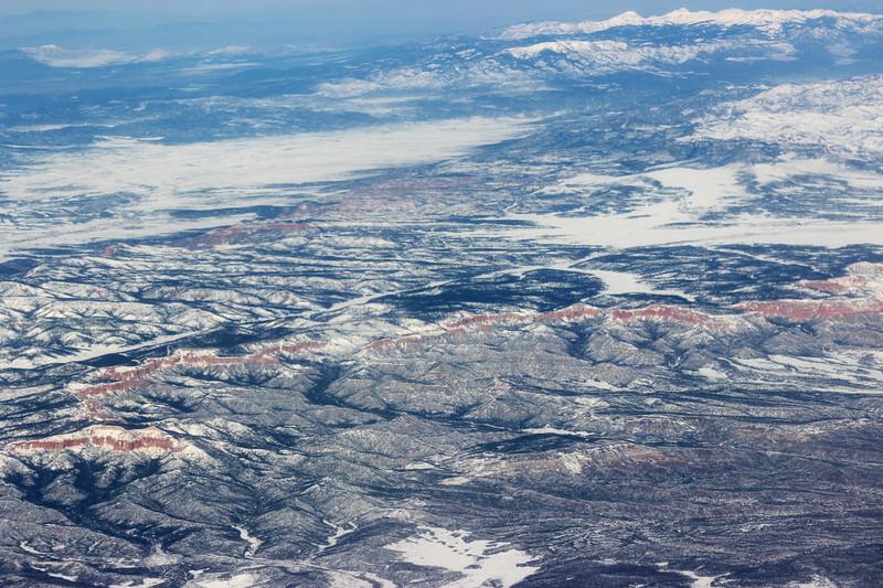 Red Rim in Western Winter