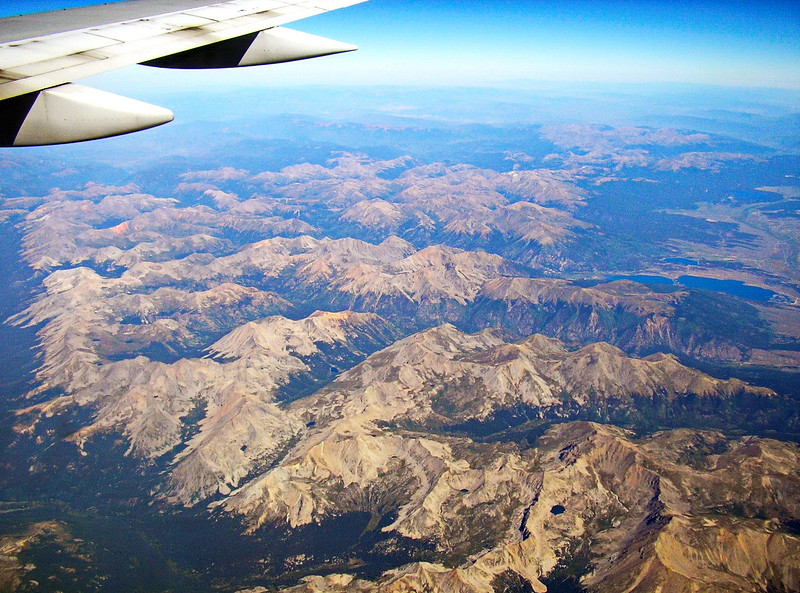 Continental Divide from the Air