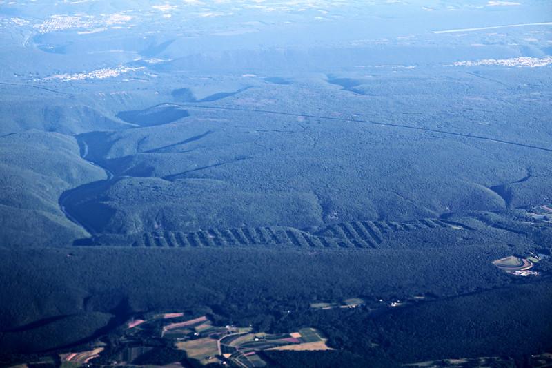 Rolling Hills and Ridges