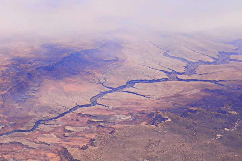Aerial View of the Western USA