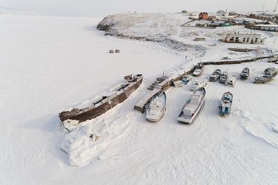 Baikal Ports Frozen