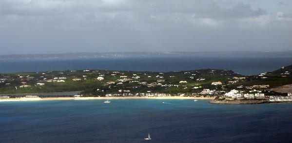St Maartens coastline