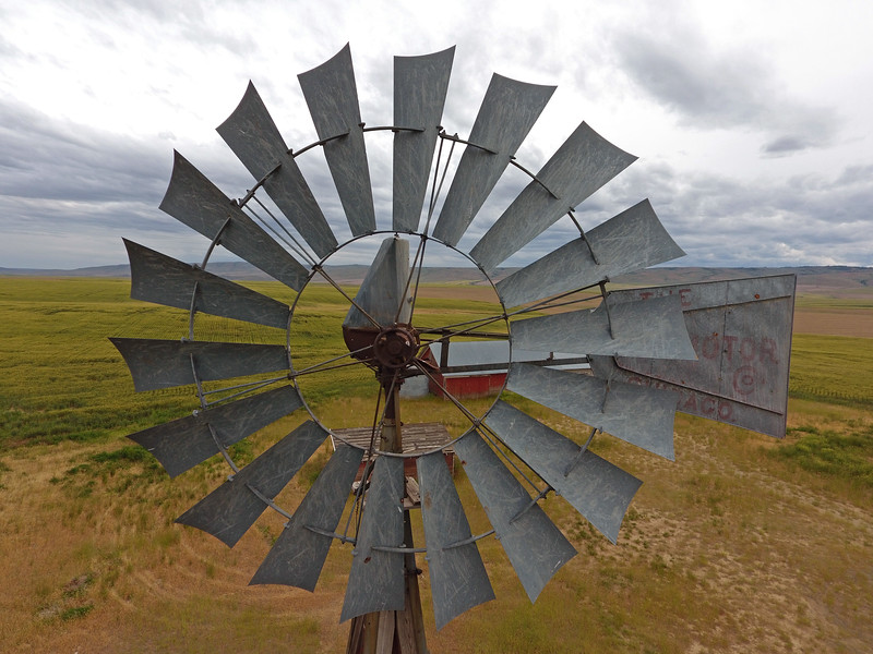 Windmill close up