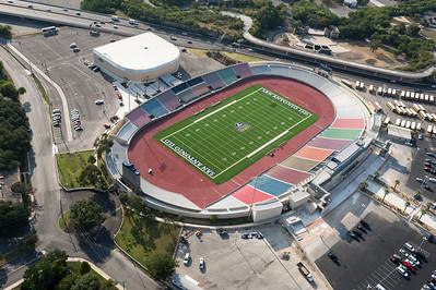 09/23/2014 092957 -- San Antonio, TX -- © Copyright 2014 Mark C. Greenberg  Alamo Stadium