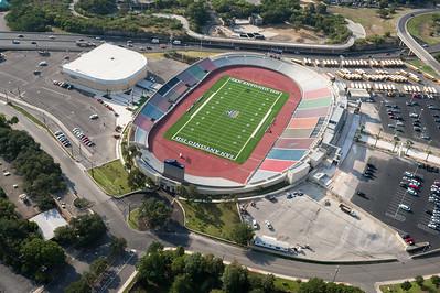 09/23/2014 092953 -- San Antonio, TX -- © Copyright 2014 Mark C. Greenberg  Alamo Stadium