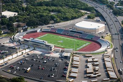 09/23/2014 092559 -- San Antonio, TX -- © Copyright 2014 Mark C. Greenberg  Alamo Stadium