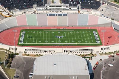 09/23/2014 092653 -- San Antonio, TX -- © Copyright 2014 Mark C. Greenberg  Alamo Stadium