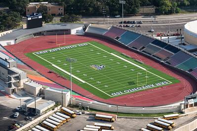 09/23/2014 092607 -- San Antonio, TX -- © Copyright 2014 Mark C. Greenberg  Alamo Stadium