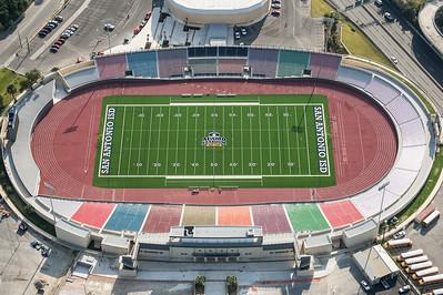 09/23/2014 093736 -- San Antonio, TX -- © Copyright 2014 Mark C. Greenberg  Alamo Stadium
