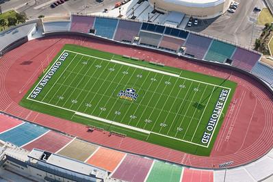 09/23/2014 093221 -- San Antonio, TX -- © Copyright 2014 Mark C. Greenberg  Alamo Stadium