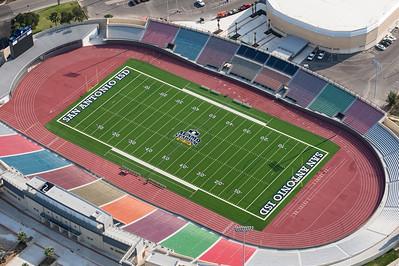 09/23/2014 093332 -- San Antonio, TX -- © Copyright 2014 Mark C. Greenberg  Alamo Stadium