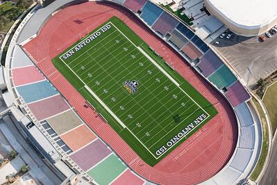 09/23/2014 093633 -- San Antonio, TX -- © Copyright 2014 Mark C. Greenberg  Alamo Stadium