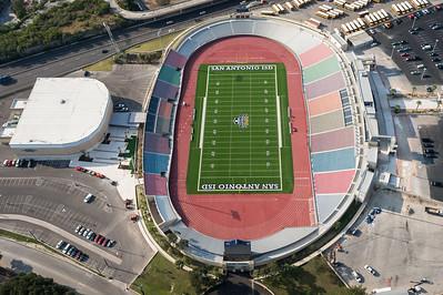 09/23/2014 092901 -- San Antonio, TX -- © Copyright 2014 Mark C. Greenberg  Alamo Stadium