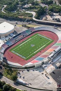 09/23/2014 093314 -- San Antonio, TX -- © Copyright 2014 Mark C. Greenberg  Alamo Stadium