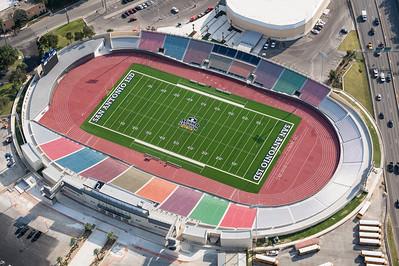 09/23/2014 093452 -- San Antonio, TX -- © Copyright 2014 Mark C. Greenberg  Alamo Stadium
