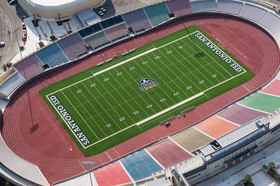 09/23/2014 093212 -- San Antonio, TX -- © Copyright 2014 Mark C. Greenberg  Alamo Stadium