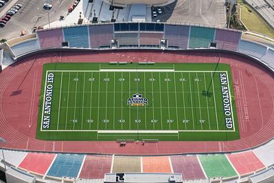 09/23/2014 093445 -- San Antonio, TX -- © Copyright 2014 Mark C. Greenberg  Alamo Stadium