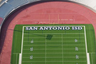 09/23/2014 093201 -- San Antonio, TX -- © Copyright 2014 Mark C. Greenberg  Alamo Stadium
