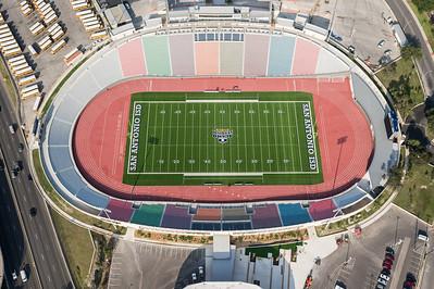 09/23/2014 093140 -- San Antonio, TX -- © Copyright 2014 Mark C. Greenberg  Alamo Stadium