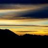 Mount Timpanogos (11,749') Wasatch range. Sunrise on decent into Salt Lake City.