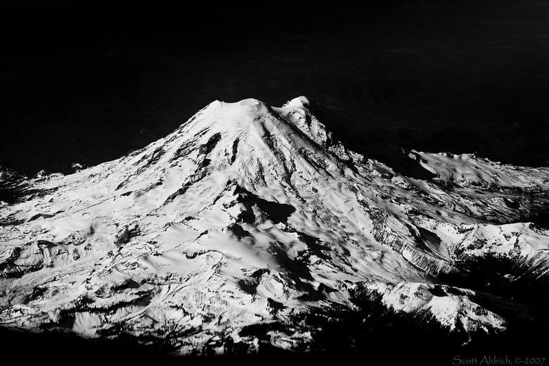 Mt. Rainer (14,410'), Washington State.
