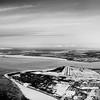 Anchorage International Airport - Denali 130+ miles away at top of photo. Runway 32 points right at it.