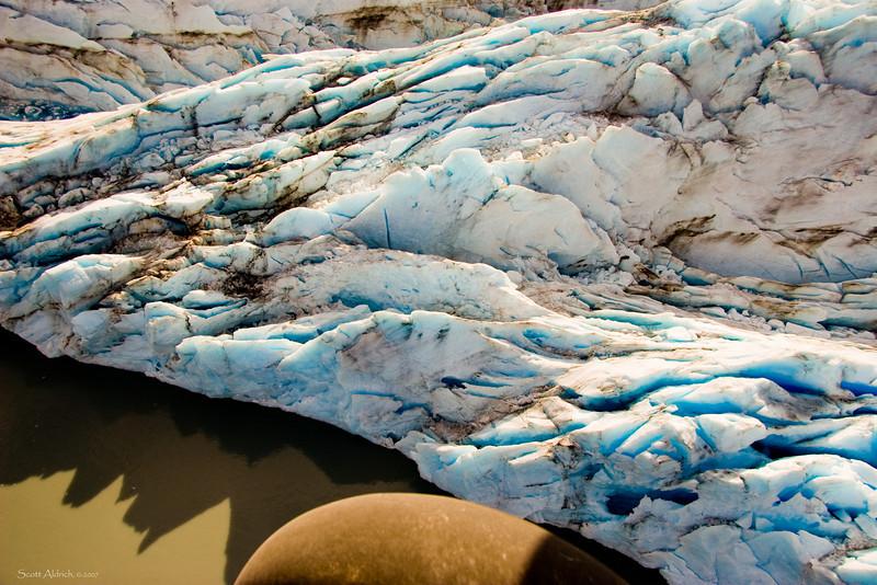 Knik Glacier, Alaska.