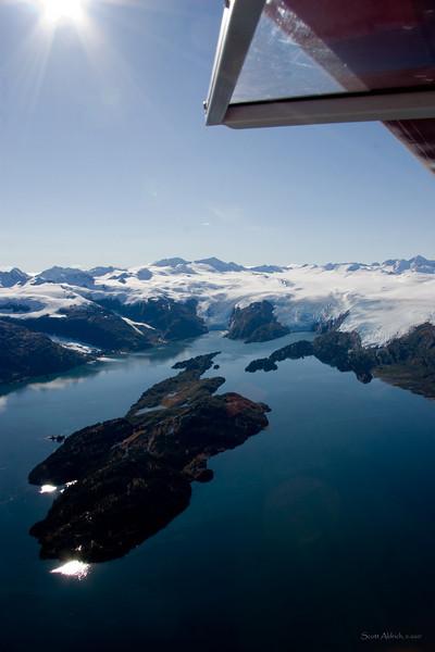Blackstone Bay, Prince William Sound, Alaska.