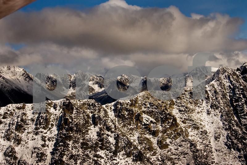 Chugach Mountains, Alaska.