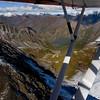 Chugach Mountains, East of Anchorage, Alaska.