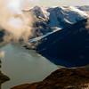 Portage Lake and Portage Glacier, Alaska.