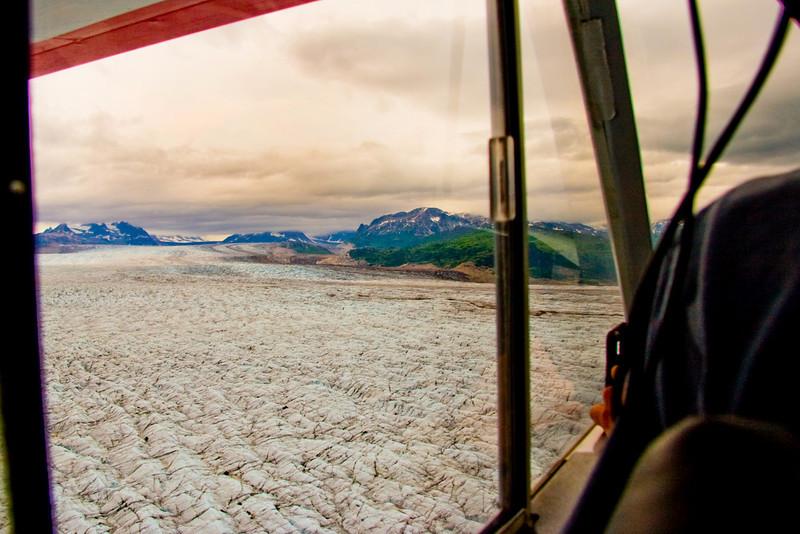 Triumvirate Glacier, Alaska.