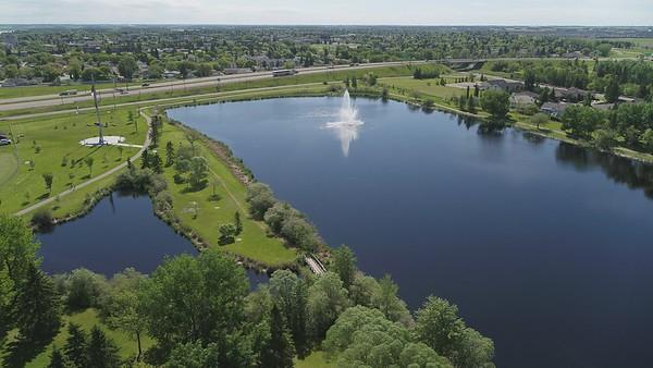 Fred Johns Park and Leduc Reservoir