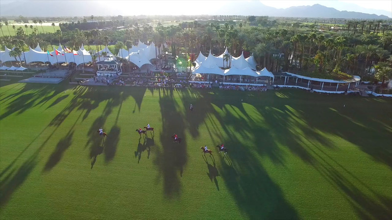 Empire Polo Demo Aerial