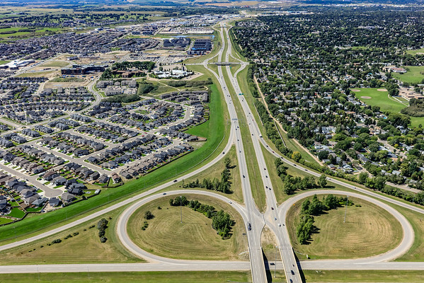 Circle Drive South Aerial