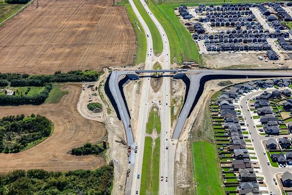 Highway 11 & Victor Blvd Aerial