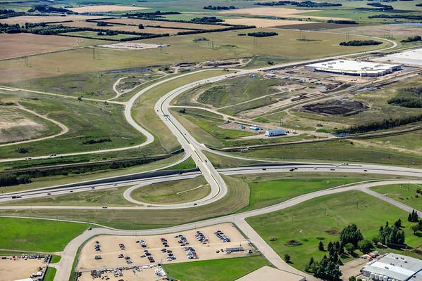 Circle Drive & Valley Road Aerial