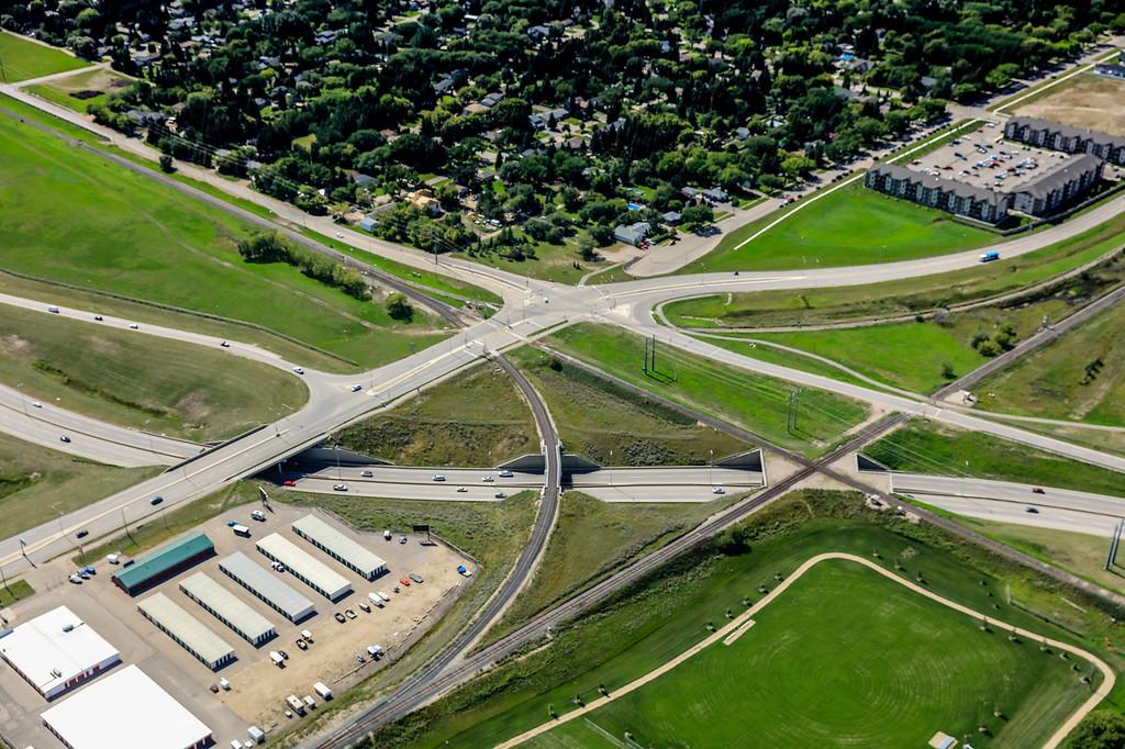 Circle Drive & 11th Street West Aerial