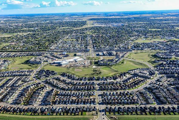 Hampton Village Aerial